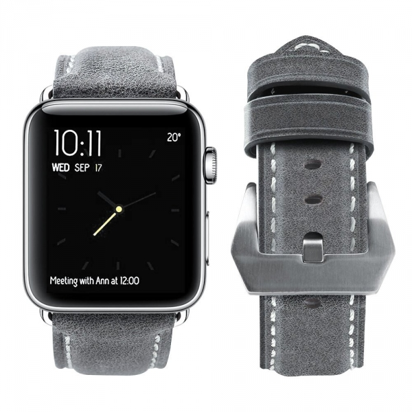 top4cus Apple Watch Deri Kayış (42mm)
